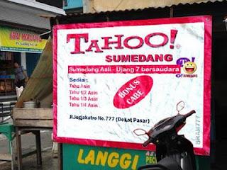 Unik : Plesetan Ala Warung Indonesia