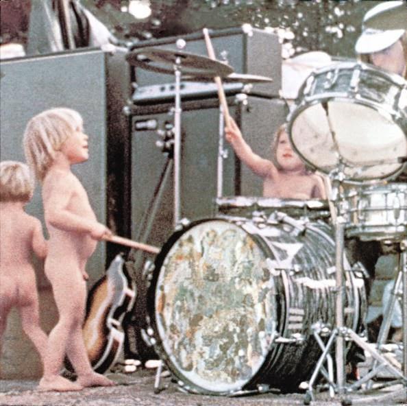 Niños en Woodstock '69