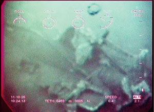 Bangkai kapal selam Jepun Perang Dunia Kedua ditemui