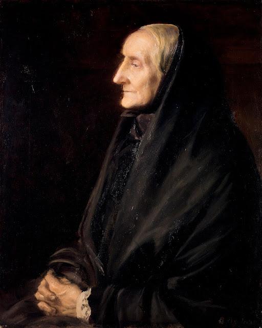 Anna Ancher portræt af sin mor, Ane Hedvig Brøndum (1905)