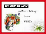 Penny Black and More Winner - July 2014 & August 2015