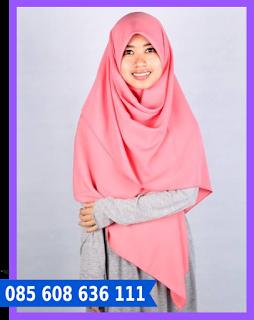 hijab segi empat sehari hari