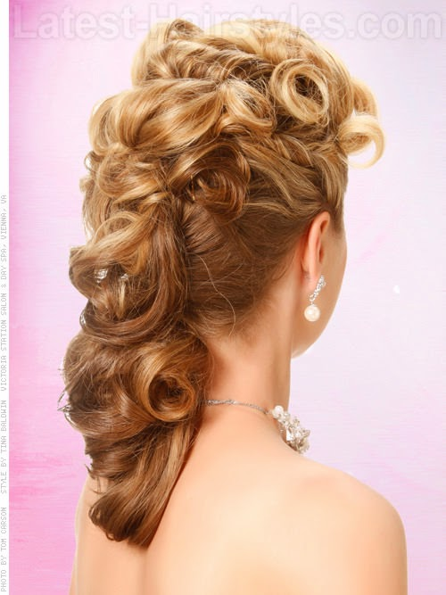 Prom Hairstyles Pulled To The Side