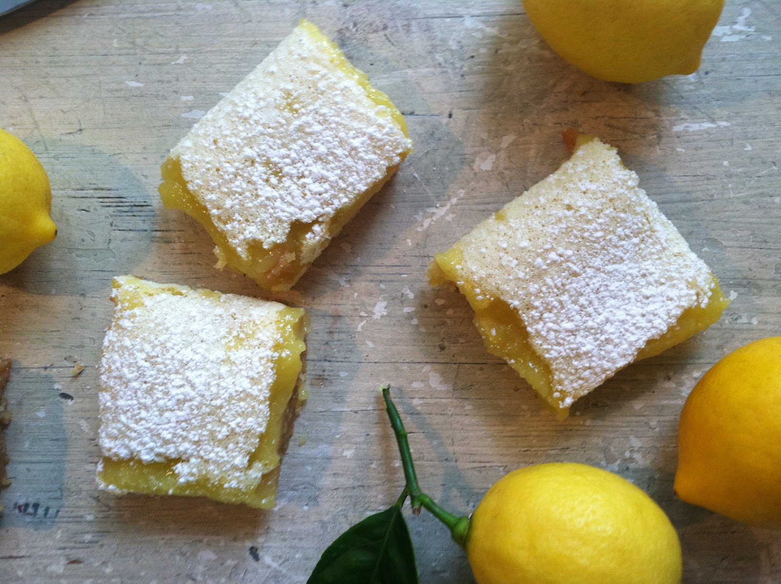 Room For Dessert | food + party + style: MEYER LEMON BARS