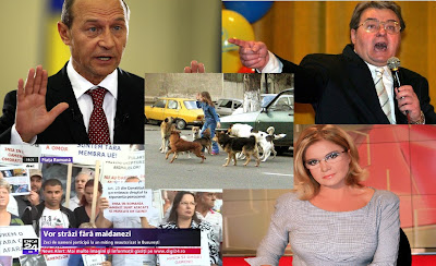 Băsescu propune eutanasierea maidanezilor, Vadim se opune