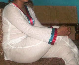 Pakistani Girl In White Dress