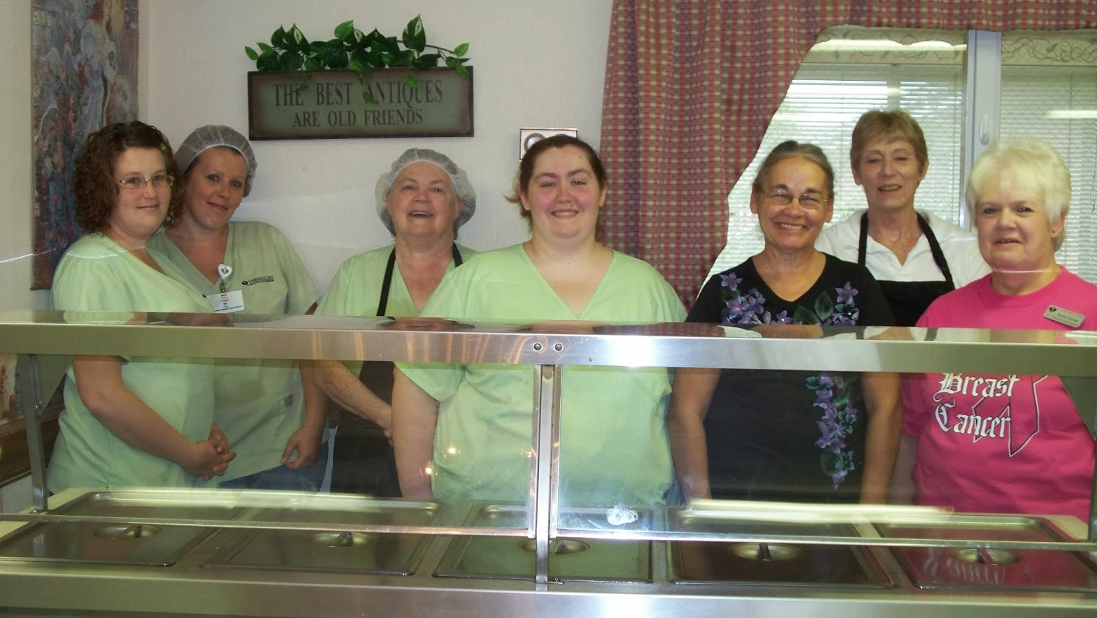 ... HEALTH CARE CENTER CELEBRATES NATIONAL HEALTHCARE FOOD SERVICE WEEK