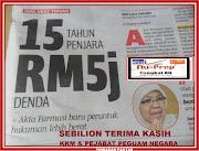 KEMENANGAN PENGGUNA BIJAK MALAYSIA SEBILION TERIMA KASIH NU-PREP 100 JENAMA MALAYSIA