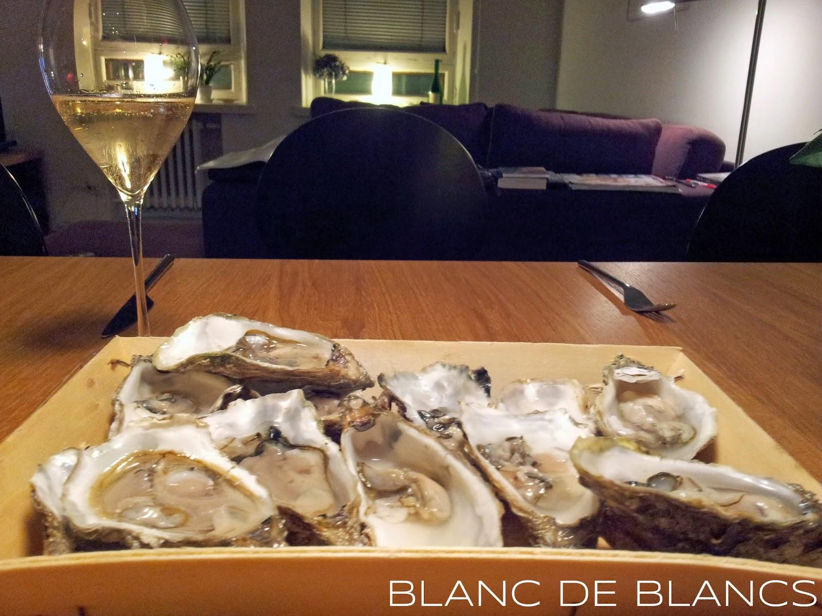 Ostereita ja samppanjaa - www.blancdeblancs.fi