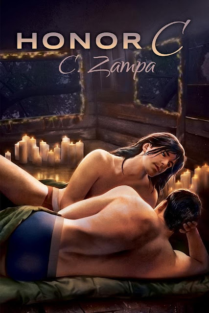 Honor C, gay romance novel with cover illustration by Paul Richmond