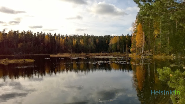 Black Lake in Nuuksio