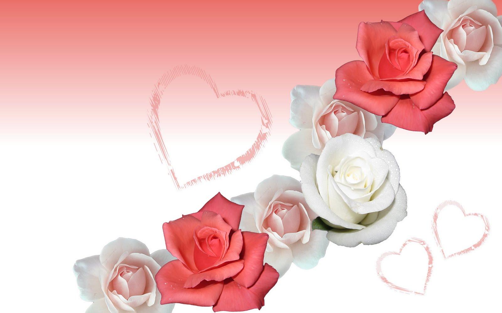 BRose Wedding Invitation B Red 1024x768