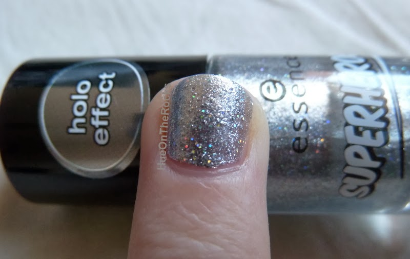 Essence superheroes nail polish holo effect