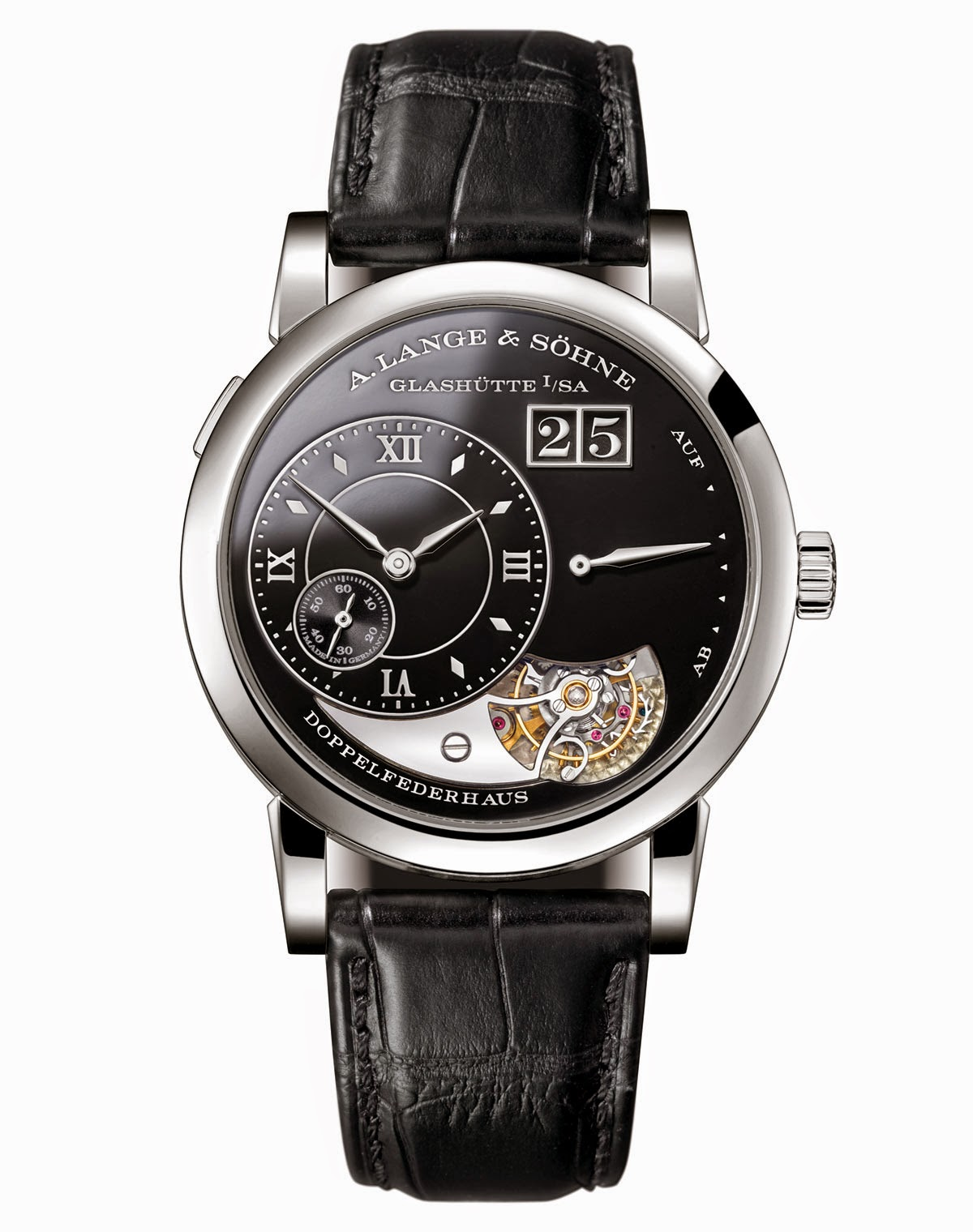 A. Lange & Sohne Lange 1 Tourbillon Handwerkskunst copy watch