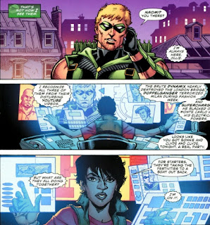 Naomi in Green Arrow #1 from DC Comics