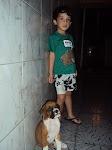 ´Já tenho um filho e um cachorro'