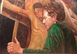 San Francesco e il Crocefisso di san Damiano