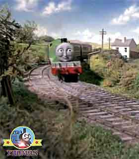 The next bright morning Thomas the tank engine Henry the train was enjoining himself enormously