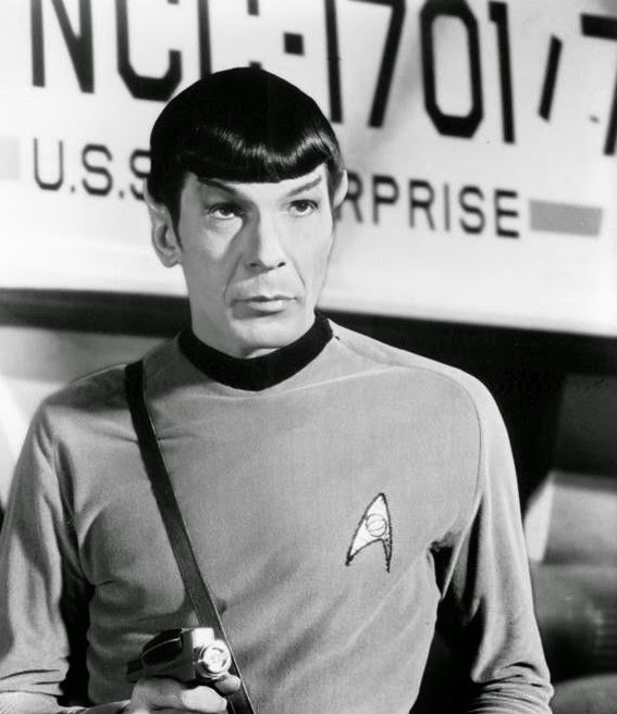 """Spock"" by Leonard Nimoy"