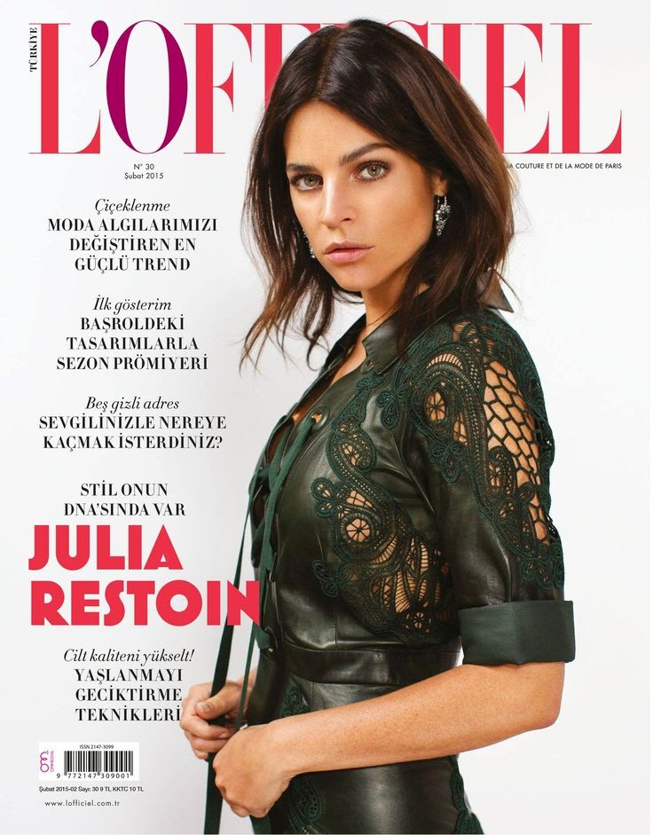 Model: Julia Restoin Roitfeld for L'Officiel Turkey