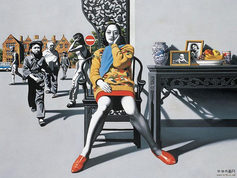 Doctor Ojiplático. Zhong Biao 钟飙. Pintura | Painting