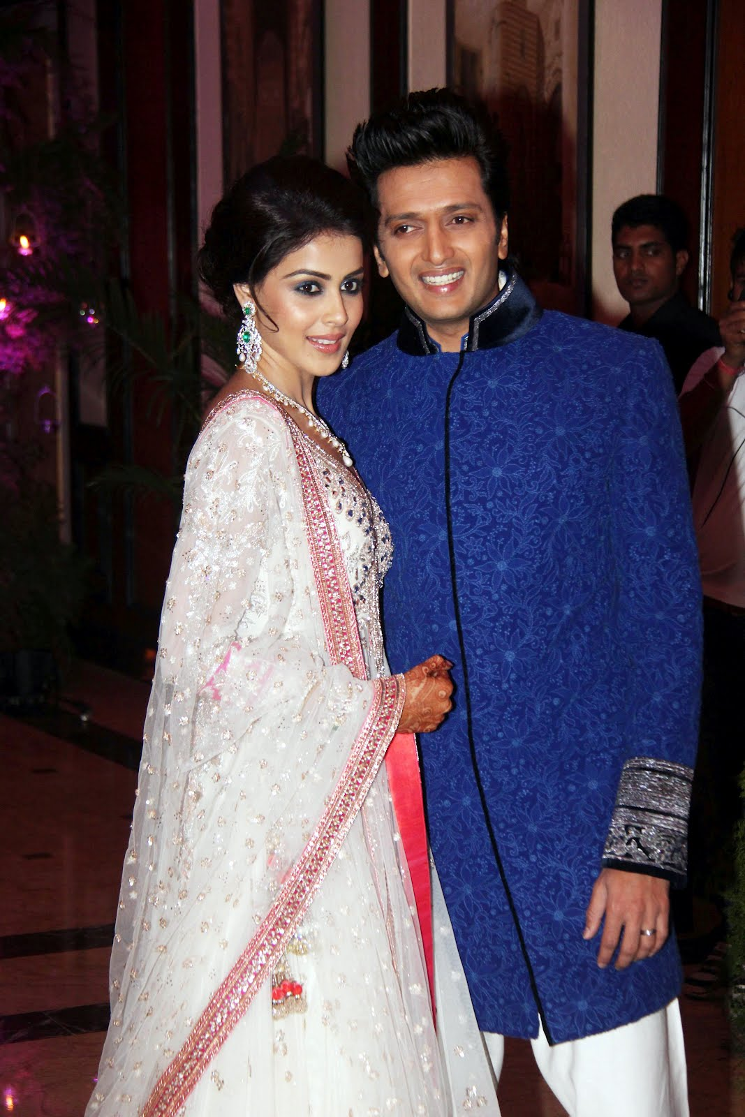 Genelia And Ritesh Latest PhotosPicturesPics