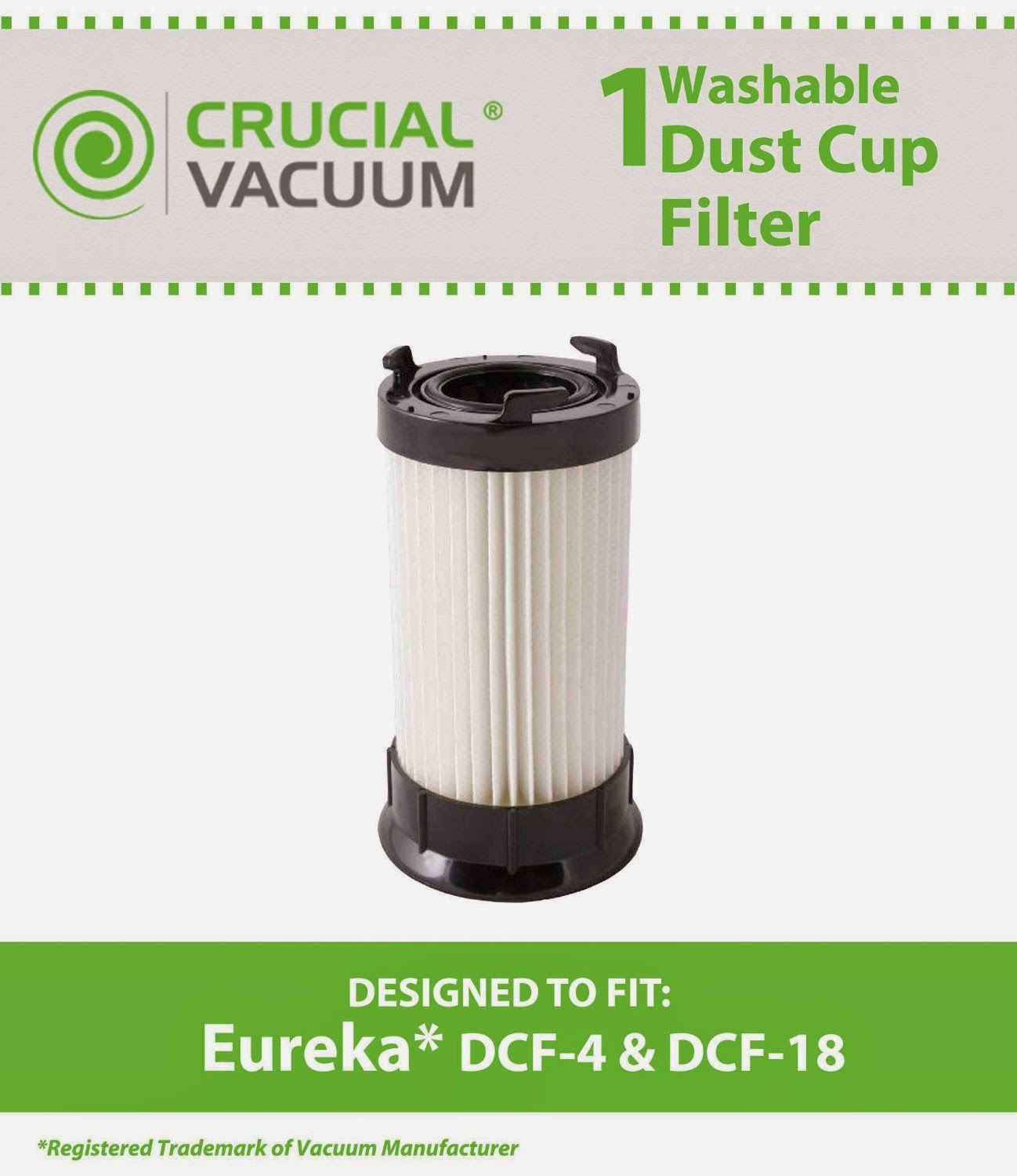 eureka washable and reusable longlife vacuum filter - Eureka Vacuum Filters