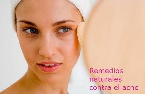 recetas naturales acne