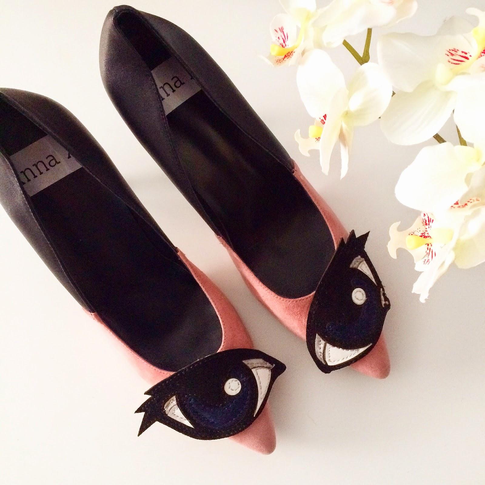 Anna Xi Eye Heels, Fun Heels, Heels, Pink Heels, Eyes On Me Heels