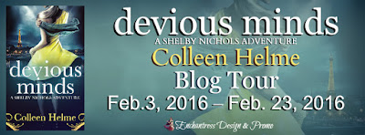 Devious Minds Blog Tour – Excerpt, Book Looks & Giveaway