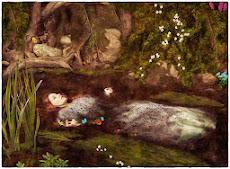 'Ophelia', Millais (1852).