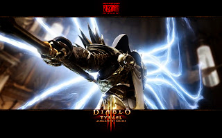 Diablo 3 Game Character Tyrael HD Desktop Wallpaper