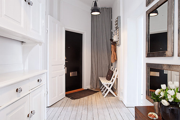 Life as a moodboard scandinavian style hall entrance for Apartment entrance decoration
