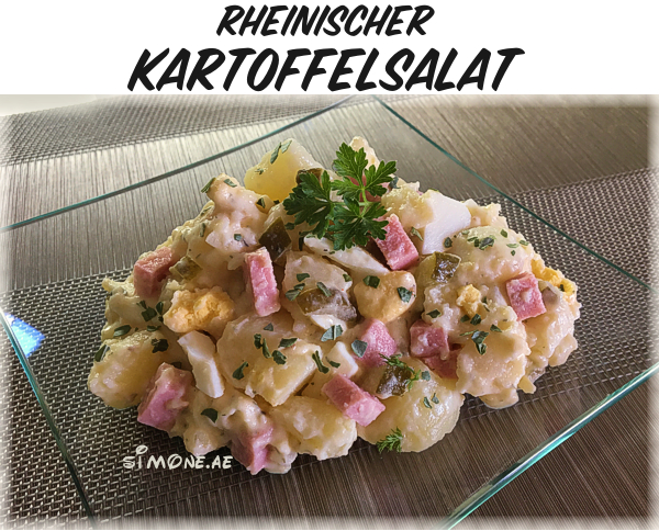 Rheinische Küche | Rheinischer Kartoffelsalat Simone Ae Ab In Die Kuche