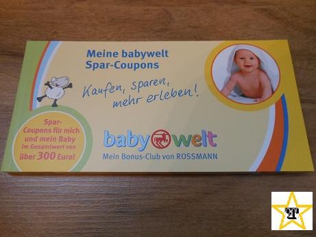 Rossmann babywelt couponheft