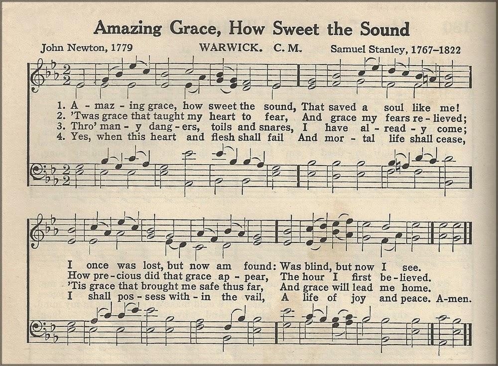 Amazing Grace Lyrics - Gospel Song Lyrics