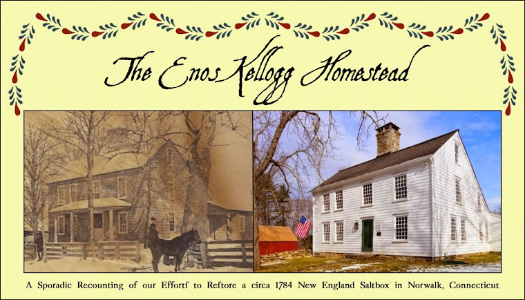 The Enos Kellogg Homestead - Restoring an 18th Century Connecticut Home