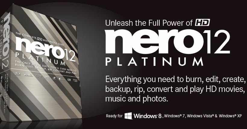 nero 12 for windows 8 64 bit free  full version