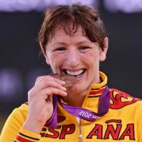 Maider Unda medalla de bronce en lucha -72 kg España Juegos Olímpicos de Londres 2012