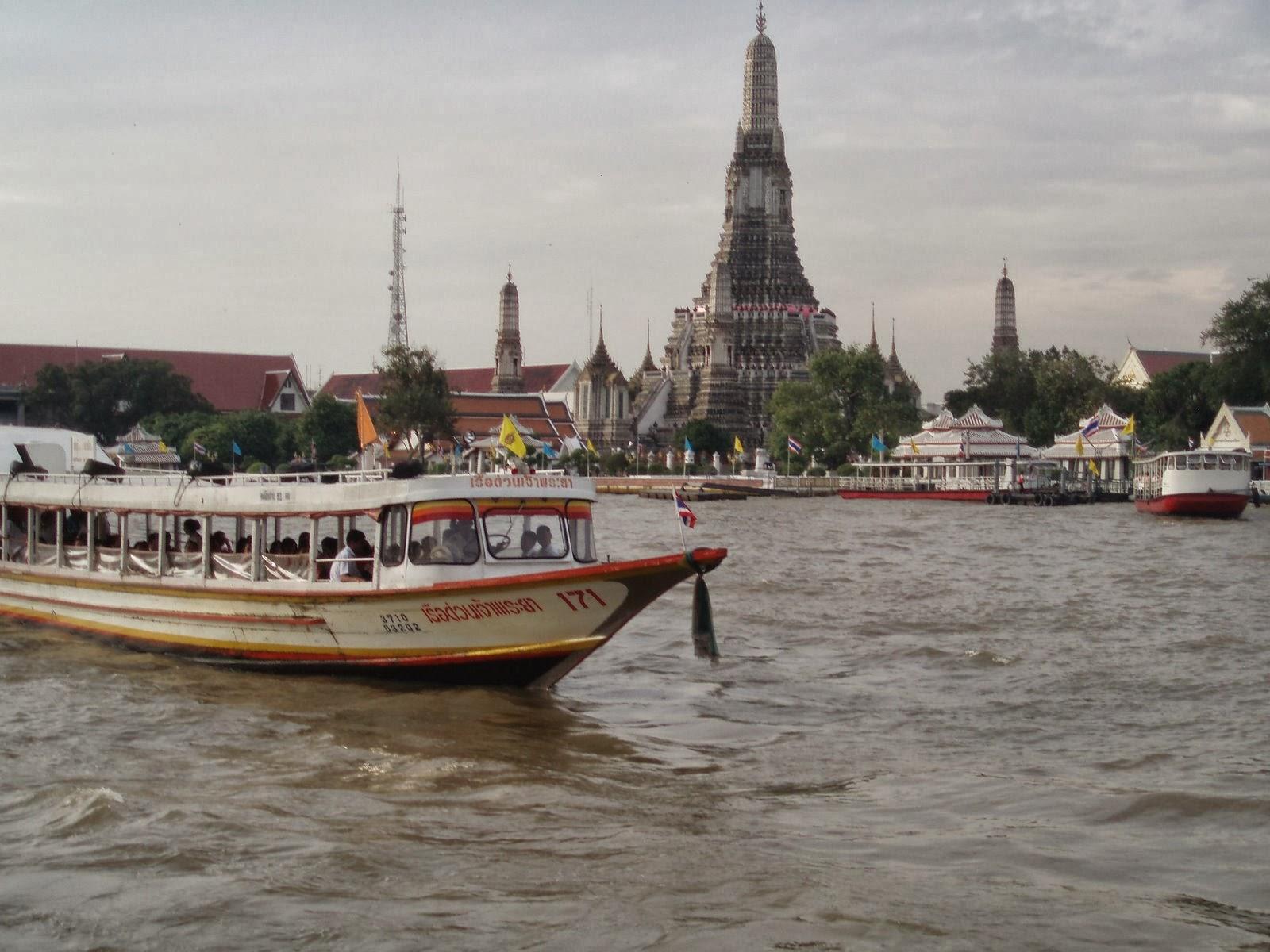 My Krung Thep Bangkok Bangkok by boat Chao Phraya