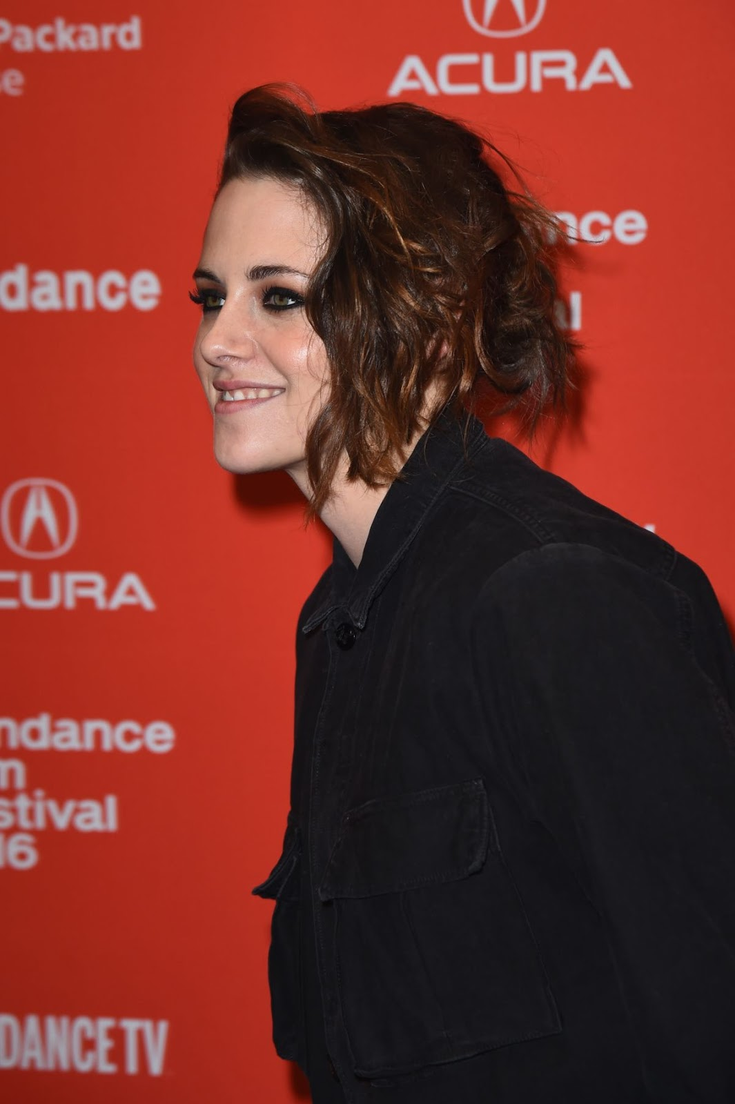 Kristen Stewart at Certain Women Premiere at Sundance Film Festival