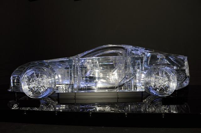 Amazing Lexus Transparent Car