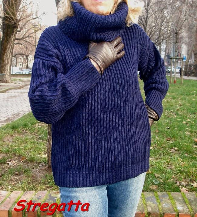 una calda maglia oasap per un freddo inverno