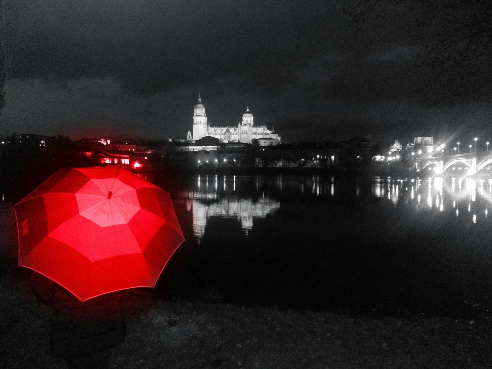 BloggerTraveller, Febrero, Rojo, Salamanca, Catedral