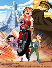 Idaten Jump Spacetoon Anime