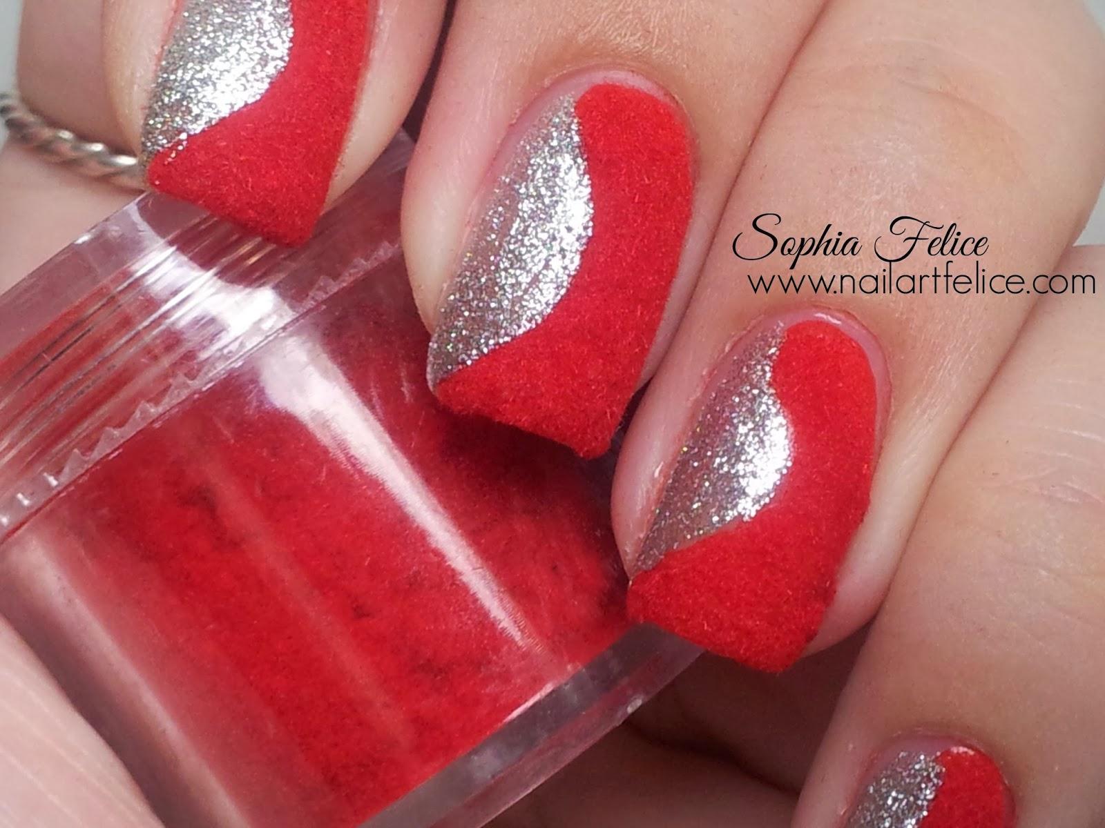 Amato Idea unghie con effetto velluto fuzzy nails GX59