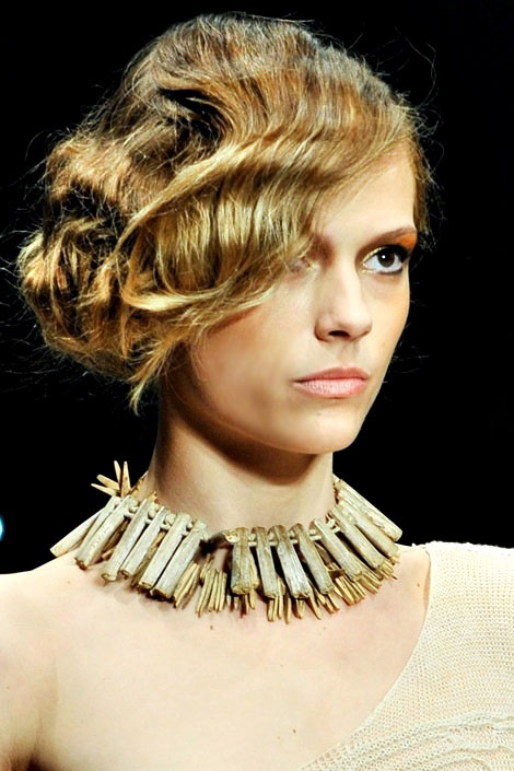 2012 Fashion Show Hairstyles Trend Haircuts