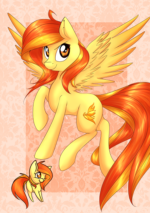 Spitfire is a Pegasus pony and the captain of the aerial acrobatics group, The Wonderbolts. She...