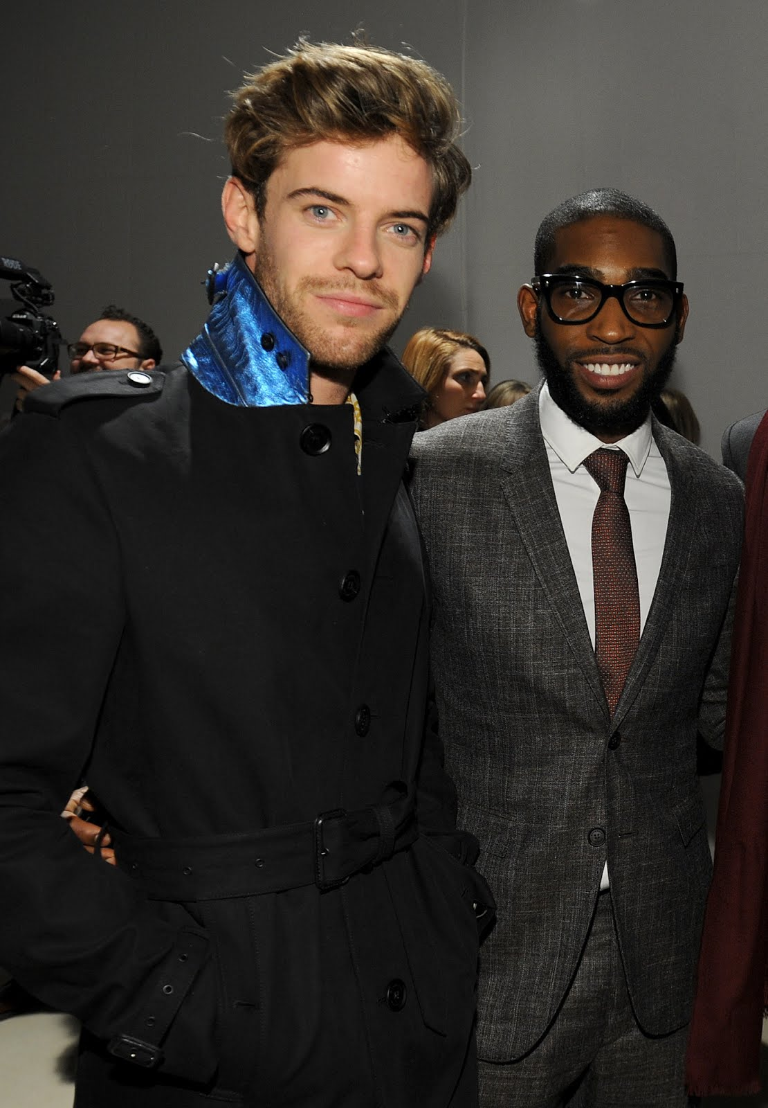 00O00 Menswear Blog Harry Treadaway in Burberry - Burberry Prorsum Menswear FW2013, #MFW