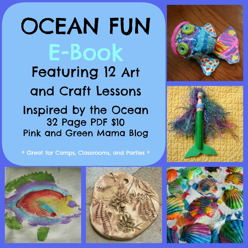 Pink And Green Mama Pink And Green Mama Crafts Ocean Fun